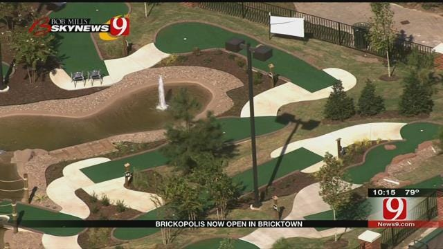 Bricktown's Newest Attraction Opens To The Public