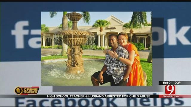 Cyril High School Teacher And Husband Facing Child Abuse Allegations