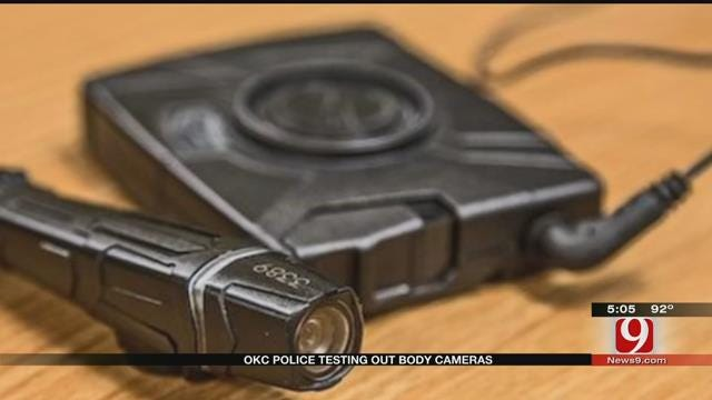 Oklahoma City Police Department Begins Trial Body Camera Testing