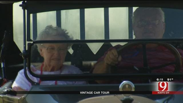 Classic Car Tour Makes Stop In OKC