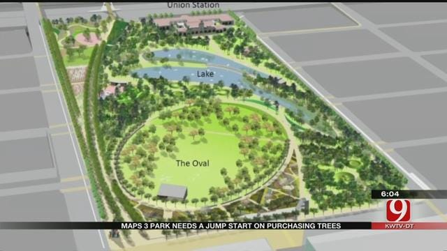Park Constructions In OKC, Tulsa Could Lead To Race To Purchase Trees