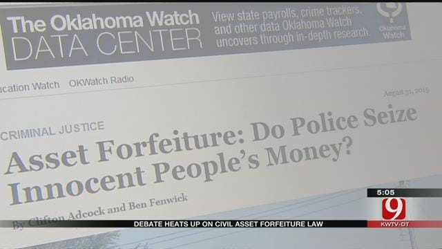 Proposed New Law Has Both Sides Debating Civil Asset Forfeiture