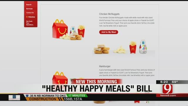 Some Fast-Food Restaurants Required To Make Kid's Meals Healthier
