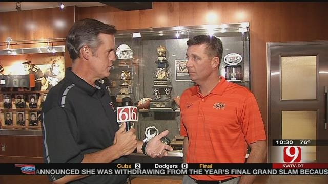 Mike Gundy One-On-One (Part 1)