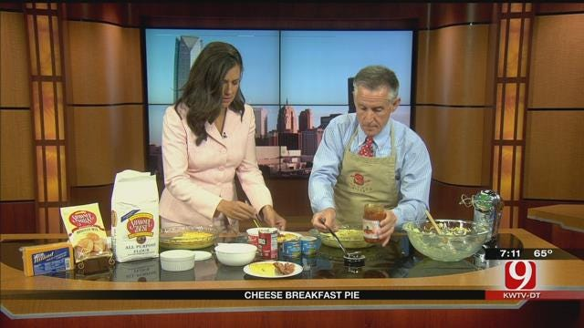 Made In Oklahoma: Cheese Breakfast Pie