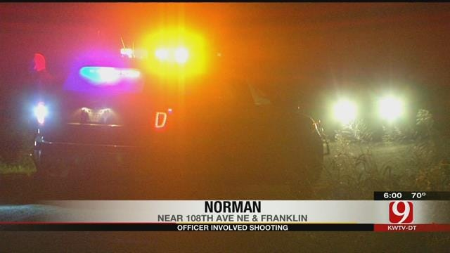 Suspect Hospitalized After Officer-Involved Shooting In Norman