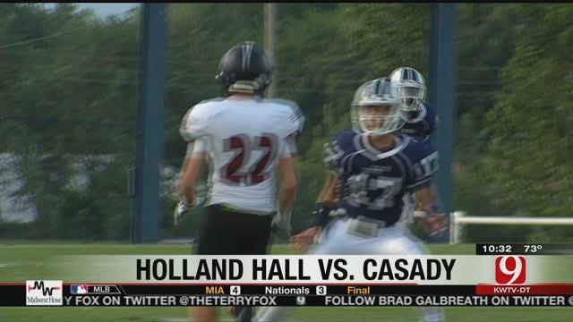 Holland Hall Beats Casady In Opener