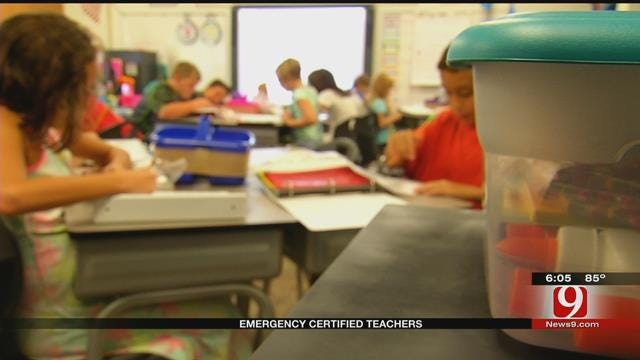 Emergency Certified Teachers Head To Oklahoma Classrooms