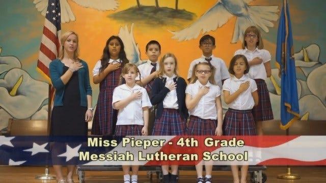 Miss Pieper's 4th Grade at Messiah Lutheran School