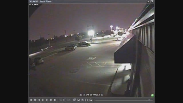 WEB EXTRA: OKC Police Release Surveillance Video Of Hit-And-Run