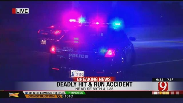 OKC Police Investigate Deadly Hit-And-Run