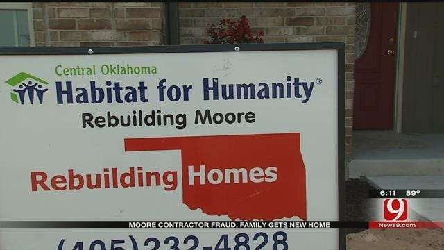 Family's Home Rebuilt In Moore After Problems With Previous Contractor