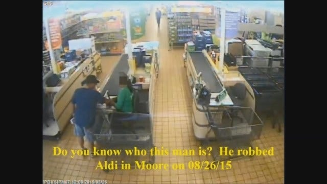 WEB EXTRA: Man Wanted For Metro Aldi Robberies