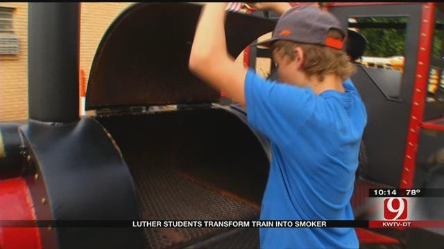 Luther Shop Students Create Unique Project With Donated Materials