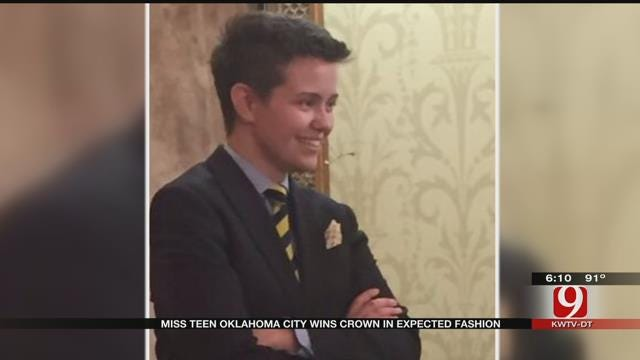 Edmond Native Turns Heads At Beauty Pageant, Wins In A Tuxedo