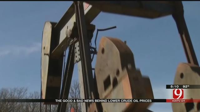 Low Oil Prices Could Throw OK Into Mini-Recession