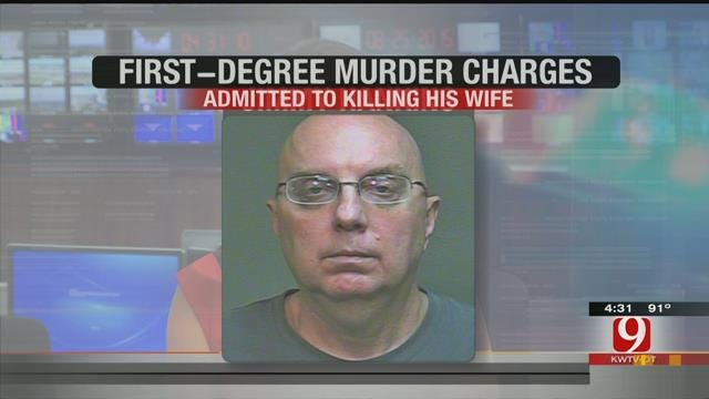 Murder Charges Filed Against OKC Man Who Admitted To Killing His Wife