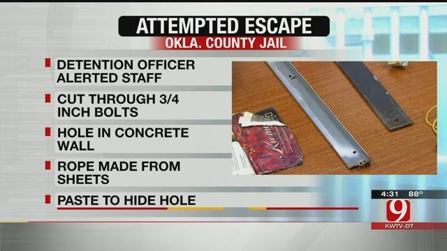 OK Co. Guard Foils Escape Attempt