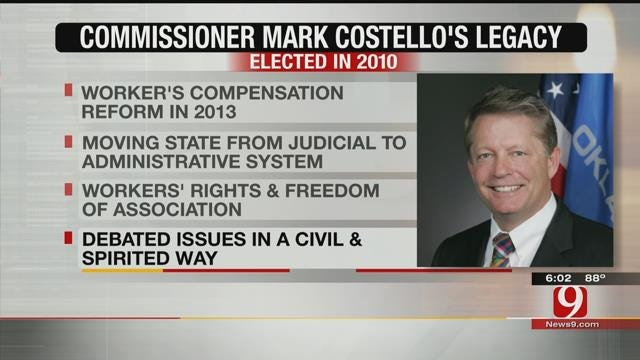Remembering Commissioner Costello's Accomplishments While In Office