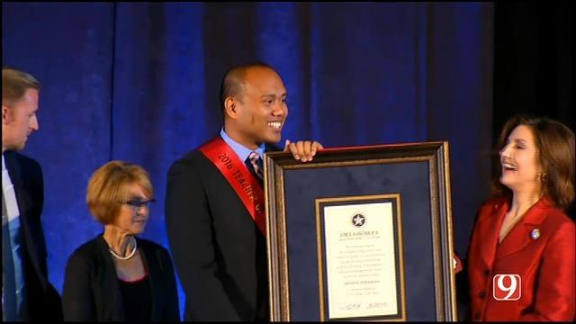 WEB EXTRA: Norman High School Teacher Named Oklahoma Teacher Of The Year