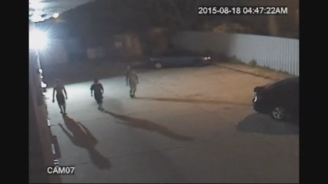 WEB EXTRA: Auto Burglary In Southwest Oklahoma City