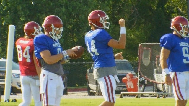 Stoops, Riley Talk Mayfield Decision