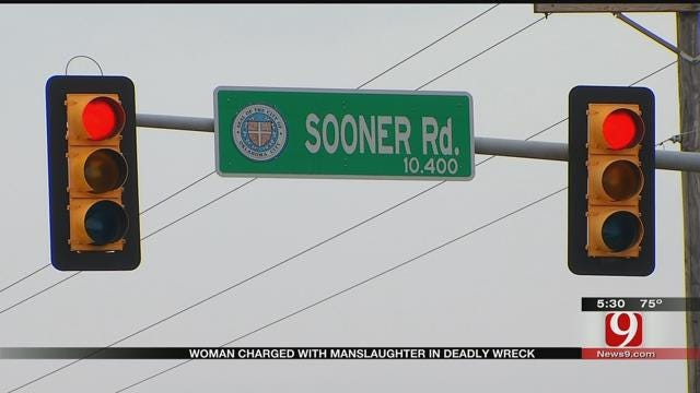 Del City Woman Charged In Connection With Fatality Accident