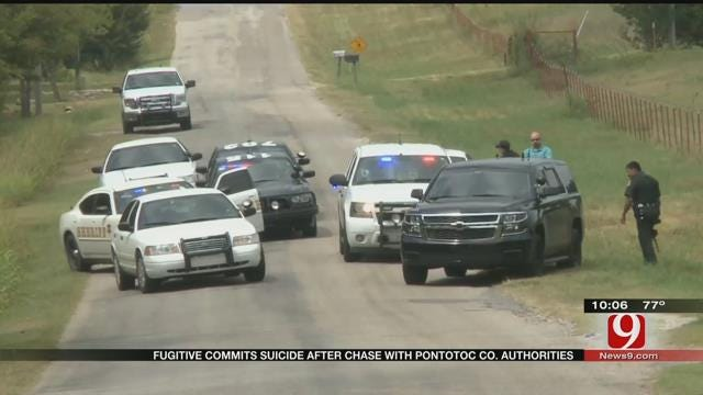 Fugitive Commits Suicide After Chase With Pontotoc Co. Authorities