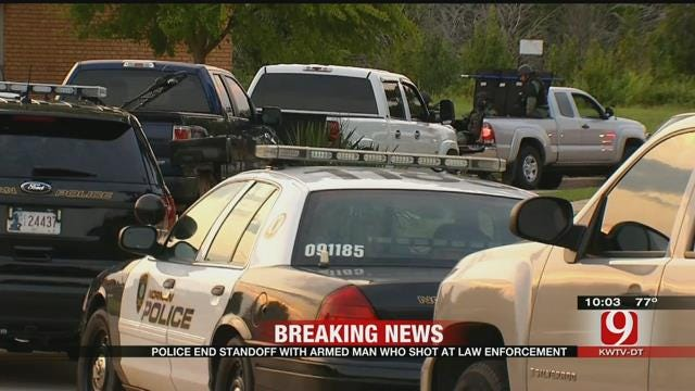 Police End Standoff In Norman, Suspect In Custody