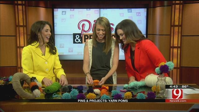Pins and Projects: Yarn Poms