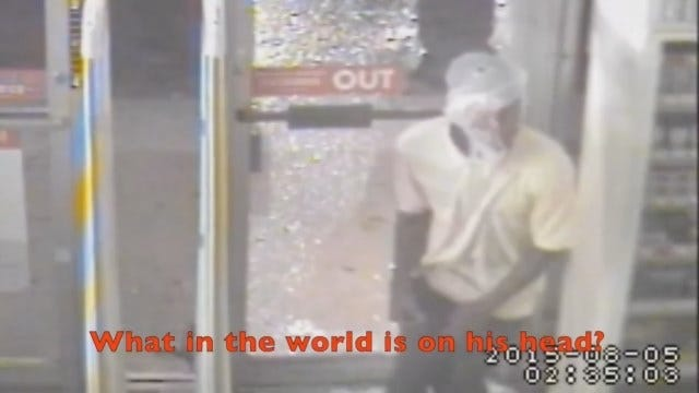 WEB EXTRA: Surveillance Video Of MWC Store Burglary