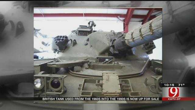 British Tank Used From The 60's Into The 90's Up For Sale In OKC