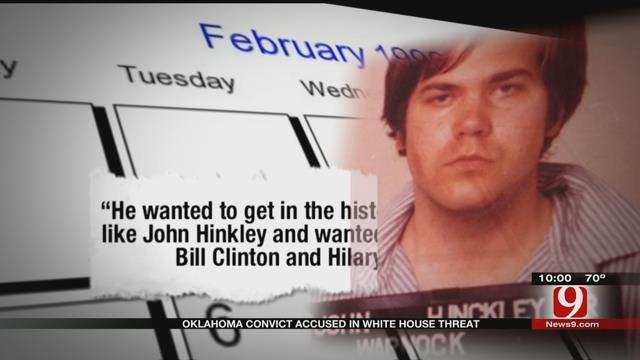 Oklahoma Convict Accused In White House Threat