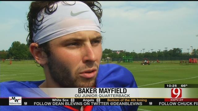 Knight, Mayfield Still Battling For No. 1 Spot