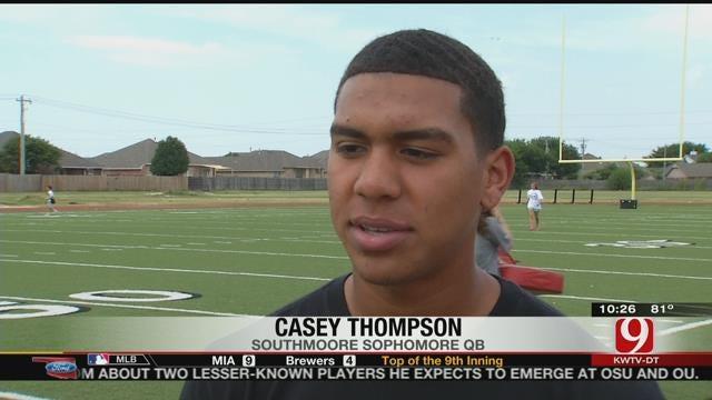 QB Thompson Looks To Lead Southmoore