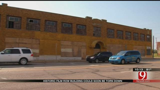 Historian Ramps Up Effort To Save 89-Year-Old Film Exchange Building