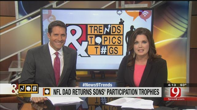 Trends, Topics & Tags: NFL Dad Rejects Participation Trophies