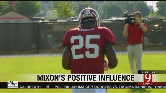 "OU's Riley: Mixon's Energy & Passion ""Infectious"""