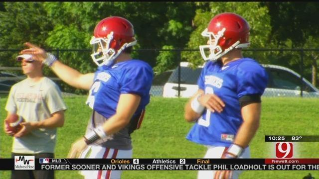 Quarterback Battle In Norman Heating Up