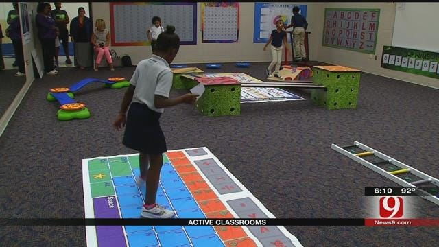OKC Students Learn With Their Brains, Bodies In Action-Based Learning Lab