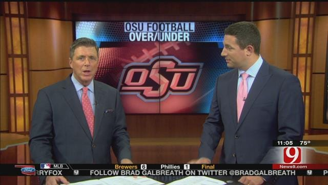 Over/Under Win Totals For OU And OSU