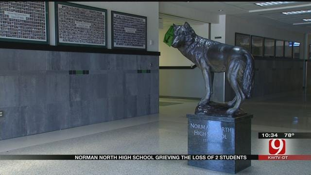 Norman North High School Offers Support After Loss Of Two Students