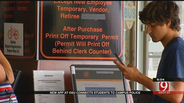 New OSU App Connects Students To Campus Police