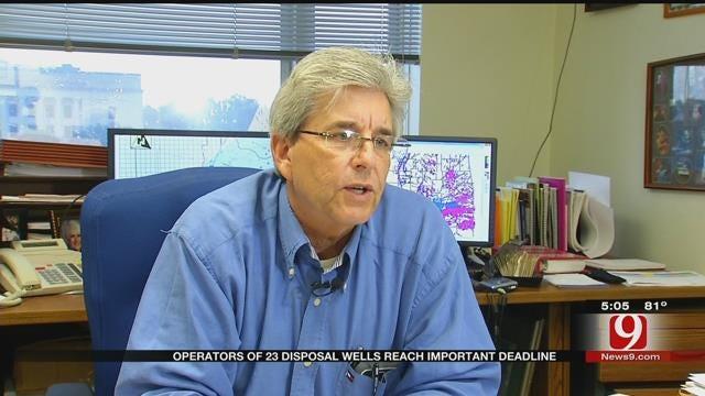 Wastewater Disposal Well Deadline