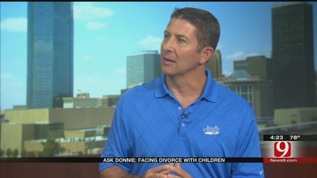 Ask Donnie: Facing Divorce With Children