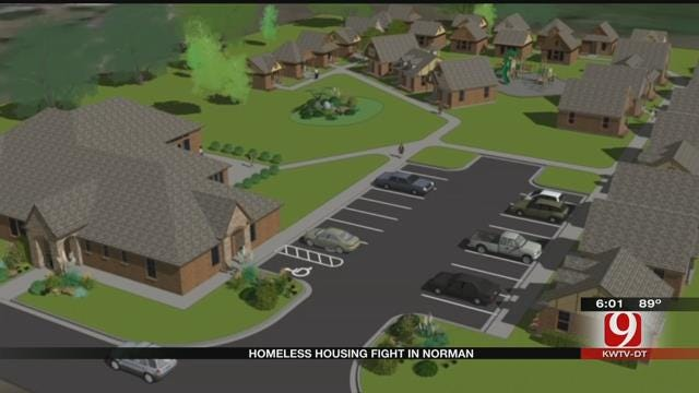 Homeless Housing Concerns In Norman