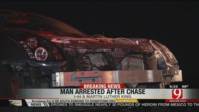 Oklahoma City Police Involved In Three Chases Overnight