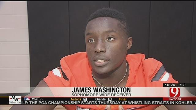 James Washington Wants To Develop Into Go-To Guy