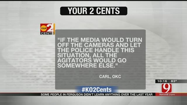Your 2 Cents: One Year Later In Ferguson, Missouri