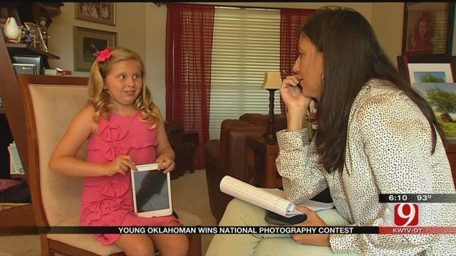 7-Year-Old Oklahoma Girl Wins National Photography Contest